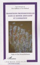 Transitions professionnelles dans le monde associatif et l'animation.