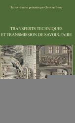 Transferts techniques et transmission de savoir-faire