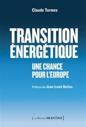 Transition énergétique : une chance pour l'europe