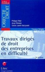 Travaux dirigés de droit des entreprises en difficulté. 3ème édition