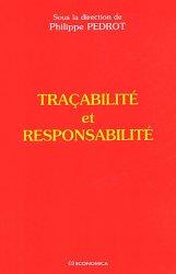 Traçabilité et responsabilité