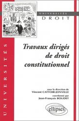 Travaux dirigés de droit constitutionnel