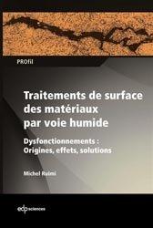 Traitements de surface des matériaux par voie humide