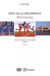 La couverture et les autres extraits de Traité de droit économique. Tome 2, Droit de la concurrence - Droit européen