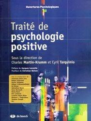 Traité de psychologie positive