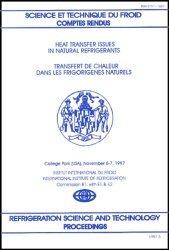 Transfert de chaleur dans les frigorigènes naturels : Heat transfer issues in natural refrigerants
