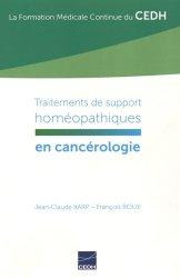 Traitements de support homéopathiques en cancérologie