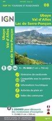 La couverture et les autres extraits de Gavarnie Néouvielle, Luchonnais, Pic du Midi de Bigorre. 1/75 000