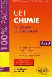 La couverture et les autres extraits de UE1 - Biochimie (Paris 6)