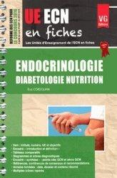 UE ECN en fiches Endocrinologie Diabétologie Nutrition