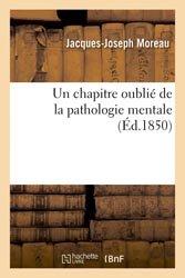 Un chapitre oublié de la pathologie mentale