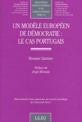 Un modèle européen de démocratie : le cas portugais