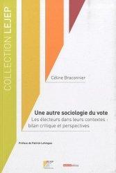 Une autre sociologie du vote