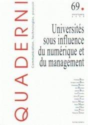 Universités sous influence du numérique et du management
