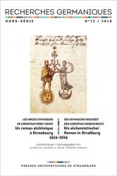 Un roman alchimique à Strasbourg