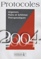Urgences. Plans et Schémas thérapeutique