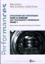 Utilisation des statistiques dans le domaine des traitements thermiques phase 1