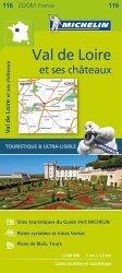 Val de Loire et ses châteaux. 1/150 000
