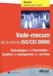 Vade-mecum de la norme ISO/CEI 20000