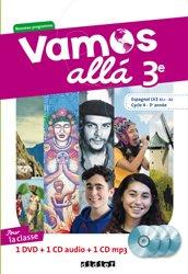Vamos allá 3e LV2 : Coffret pour la Classe 2 CD Audio + 1 DVD