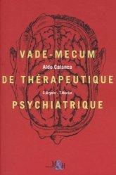 Vademecum de thérapeutique psychiatrique