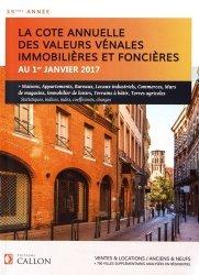 Valeurs vénales au 1er janvier 2017
