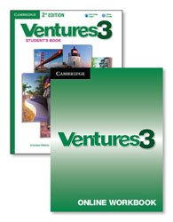 Ventures Level 3 - Digital Value Pack (Student's Book with Audio CD and Online Workbook)