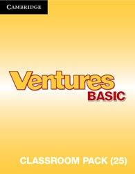 Ventures Basic - Classroom Pack (Student's Books, Workbooks, Class Audio CDs, Teacher's Edition, Career Pathways)