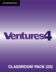 Ventures Level 4 - Classroom Pack (Student's Books, Workbooks, Class Audio CDs, Teacher's Edition, Career Pathways)