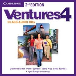 Ventures Level 4 - Class Audio CDs (2)