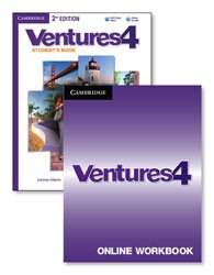 Ventures Level 4 - Digital Value Pack (Student's Book with Audio CD and Online Workbook)