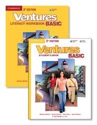 Ventures Basic - Literacy Value Pack (Student's Book with Audio CD and Workbook with Audio CD)