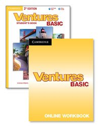 Ventures Basic - Digital Value Pack (Student's Book with Audio CD and Online Workbook)