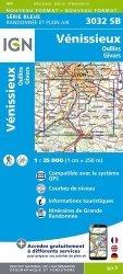 La couverture et les autres extraits de Landerneau, Landivisiau, PNR d'Armorique. 1/25 000, Edition français-anglais-allemand