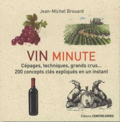 Vin minute : cépages, appellations, grands crus... : 200 concepts clés expliqués en un instant