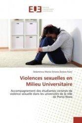 Violences sexuelles en milieu universitaire