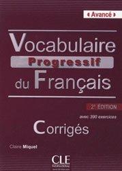 La couverture et les autres extraits de Vocabuylaire progressif du Français - Perfectionnement