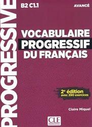 La couverture et les autres extraits de Vocabulaire progressif niveau avancé