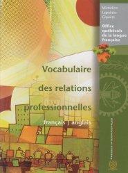 Vocabulaire des relations professionnelles français-anglais