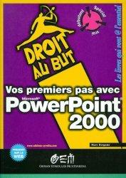 Vos premiers pas avec PowerPoint 2000
