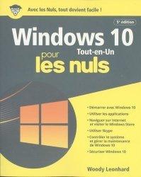 La couverture et les autres extraits de Windows 10 et internet pour les nuls