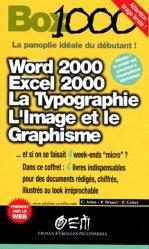 Word 2000, Excel 2000, La typographie, L'imagerie et le Graphisme
