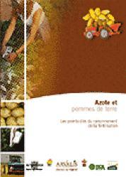 Azote et pommes de terre - arvalis - 9782864925569 -