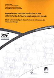 Approche des coûts de production et des déterminants du revenu en élevage ovin viande - technipel / institut de l'elevage - 9782841481484 -