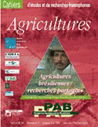 Agricultures brésiliennes, recherches partagées - john libbey / cirad - 9782876146075 -