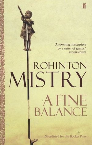 A Fine Balance - faber and faber - 9780571230587 -
