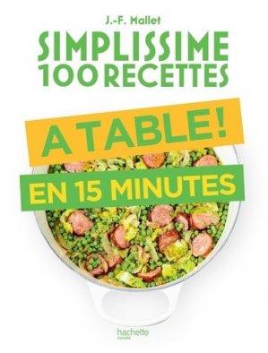 A table en 15 minutes - Hachette - 9782017089544 -