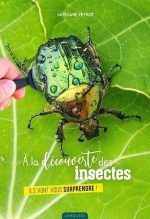 A la découverte des insectes - Larousse - 9782035984142 -