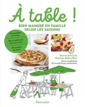 À table - flammarion - 9782081500778 -