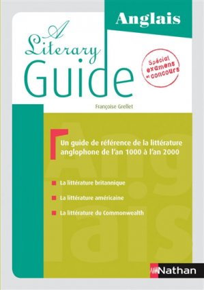 A Literary Guide Anglais - Nathan - 9782091641560 -